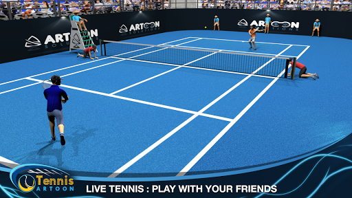 Tennis Multiplayer  captures d'u00e9cran 1