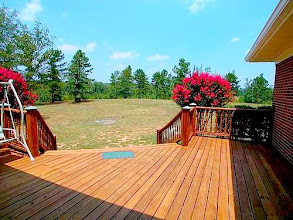 Photo: 20'x 21' Custom wooden Deck (north side)