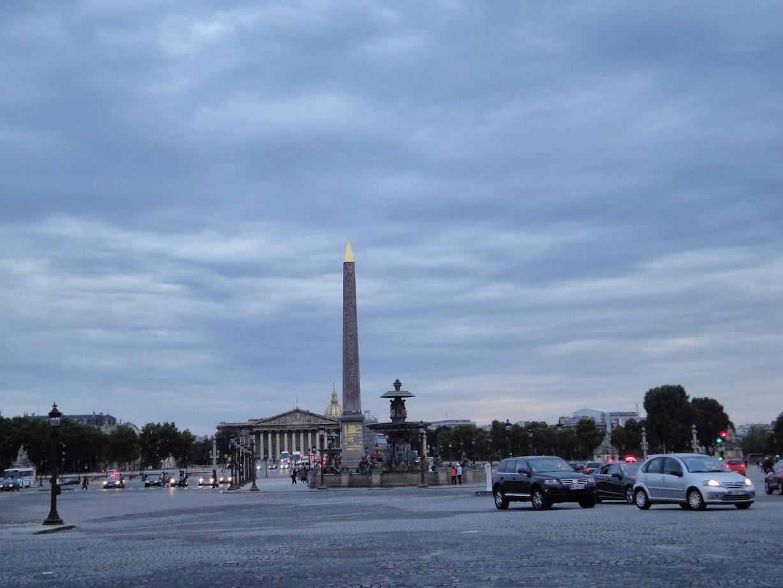 Place de la Concord à Paris