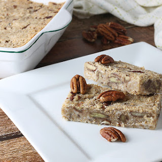 Maple Pecan Fat Bomb Bars
