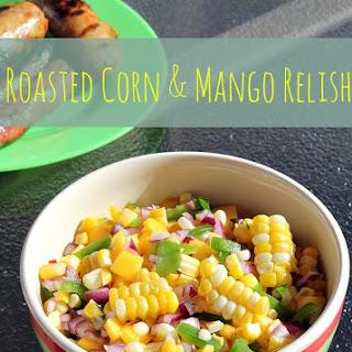 Roasted Corn and Mango Relish