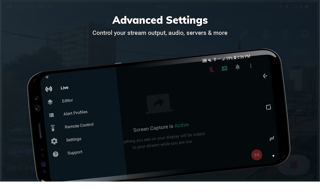 Streamlabs - Stream Live to Twitch and Youtube screenshots