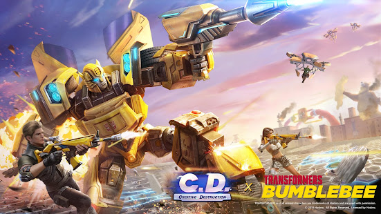 Creative Destruction v2.0 APK Data Obb Full Torrent