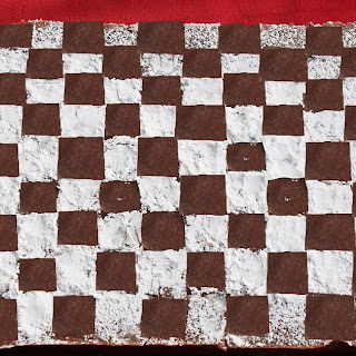 Checkered Flag Brownies.