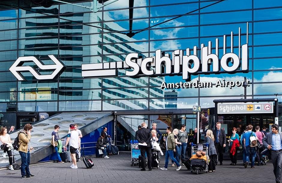 Amsterdam, Schiphol, lotnisko, jak dojechać z lotniska do centrum Amsterdamu