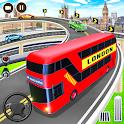Euro Coach Bus Driving Simulator Bus Parking Games icon