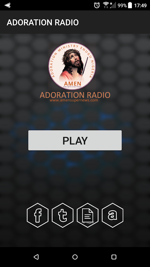 ADORATION RADIO- screenshot