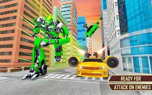 Flying Car Transformation Robot Wars Car Superhero 5