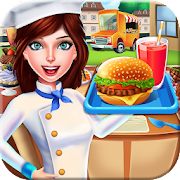 Street Food Truck Canteen Cafe - Cooking Games
