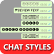 Chat Styles: Cool Text, Stylish Font for WHatsapp APK