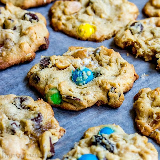Trail Mix Cookies.