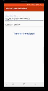 Bitcoin Miner Automatic - Earn free Bitcoins - náhled