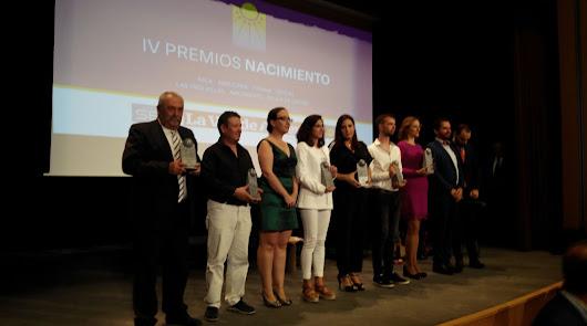 Pasión y compromiso por hacer crecer la Comarca en los Premios Nacimiento