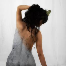 Human statue by Cesare Riccardi - Digital Art People ( statue, marble, nude, woman, digital art, artistic nude,  )