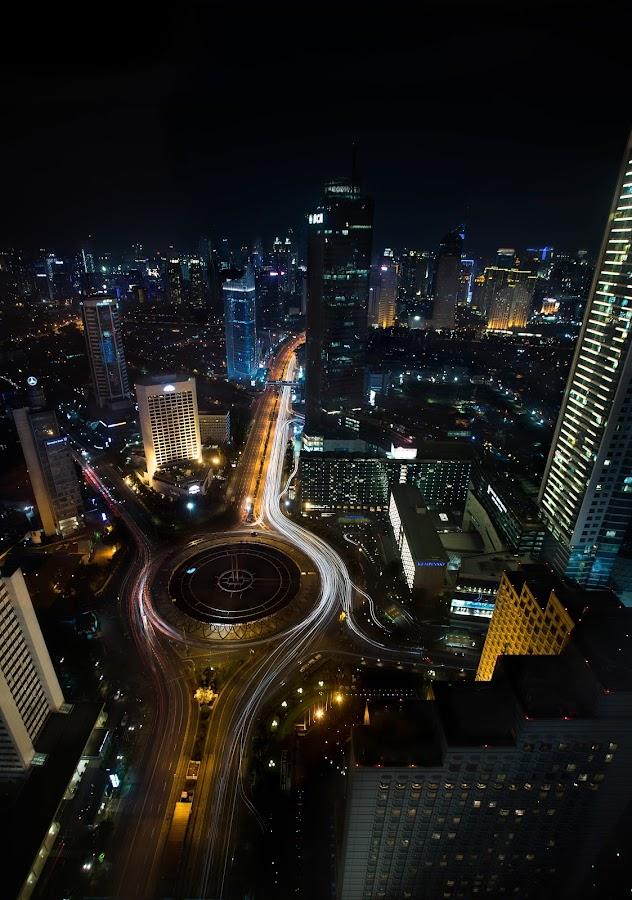 by Ko Wen - City,  Street & Park  Night