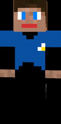 Steve in uniform.