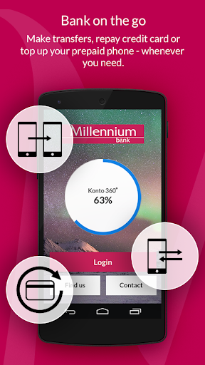 Bank Millennium - screenshot