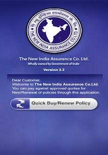New India Customer- screenshot thumbnail