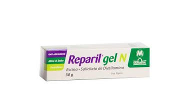 Reparil Gel N Gel Tubo   x30G. Grünenthal Escina Salicilato Dietilamina