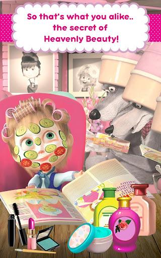Masha and the Bear: Hair Salon and MakeUp Games 1.1.8 screenshots 13