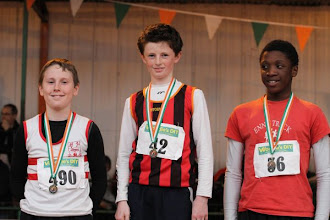 Photo: Jack Fallon, Moycarkey Coolcroo A.C. who won the National Boys U/13 Long Jump
