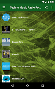 Techno Music Radio - Hardcore, Tech House  Live 1.8