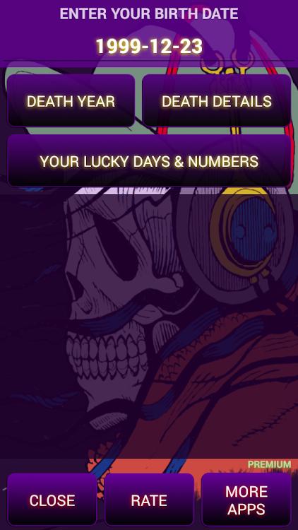 Death Date Calculator 2: Death Date App *PREMIUM* – (Android