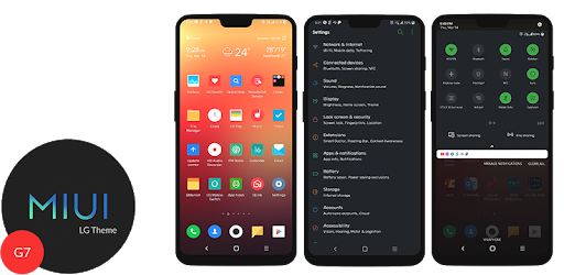 MIUI Dark Theme G7 - Apps on Google Play