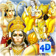 4D Hanuman Live Wallpaper