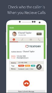 TexTory - Small Business CRM - náhled