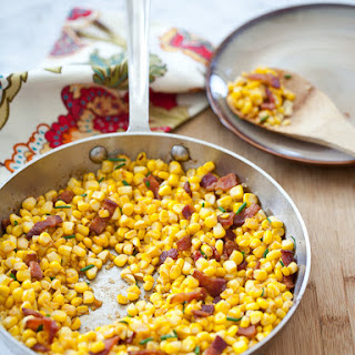 Smoked Paprika Corn with Bacon.