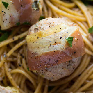 Turkey Saltimbocca Meatballs