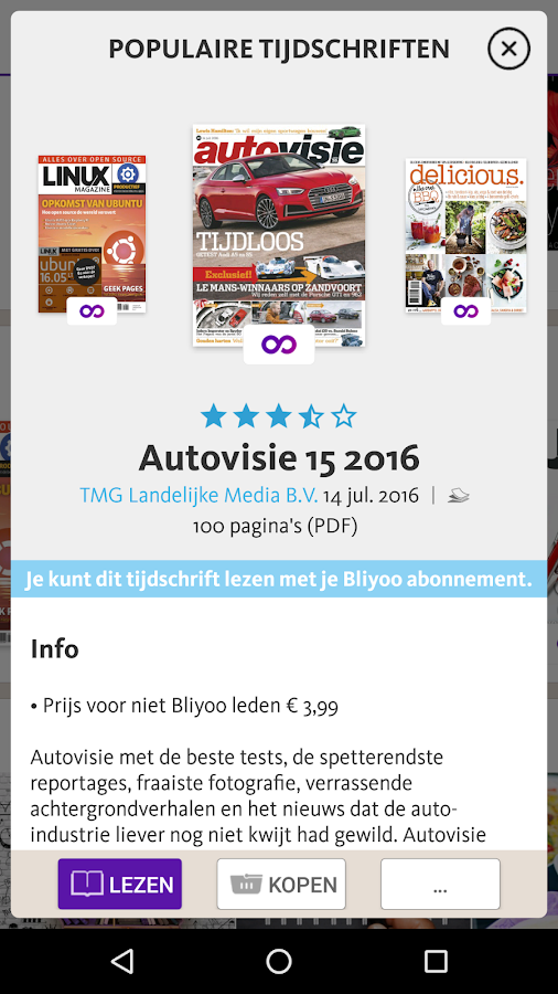 Bliyoo - Android-apps op Google Play