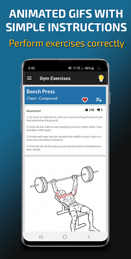Gym Exercises & Workouts 3.30 screenshots 4