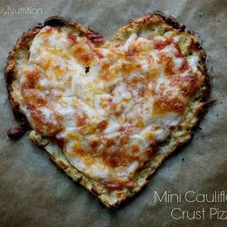 Mini Cauliflower Crust Pizza.