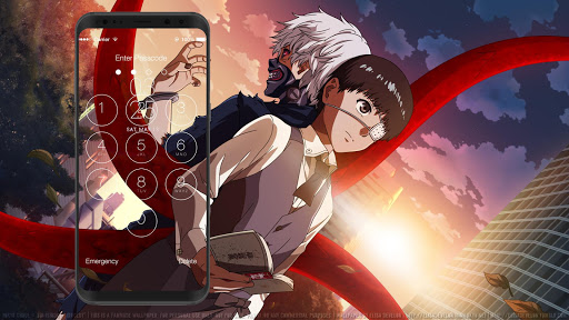 Anime Tokyo Ghoul Lock Screen Hd Wallpapers Apk Download Apkpure Co