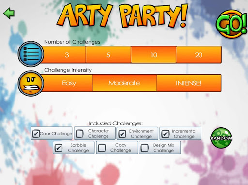 Jazza's Arty Games - screenshot