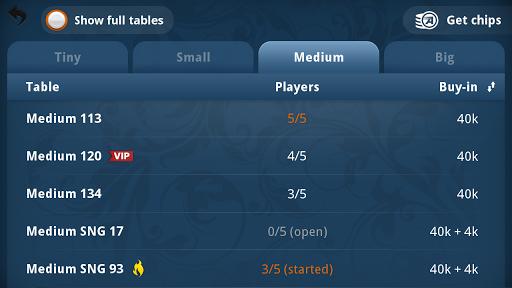 Appeak u2013 The Free Poker Game 3.1.0 9