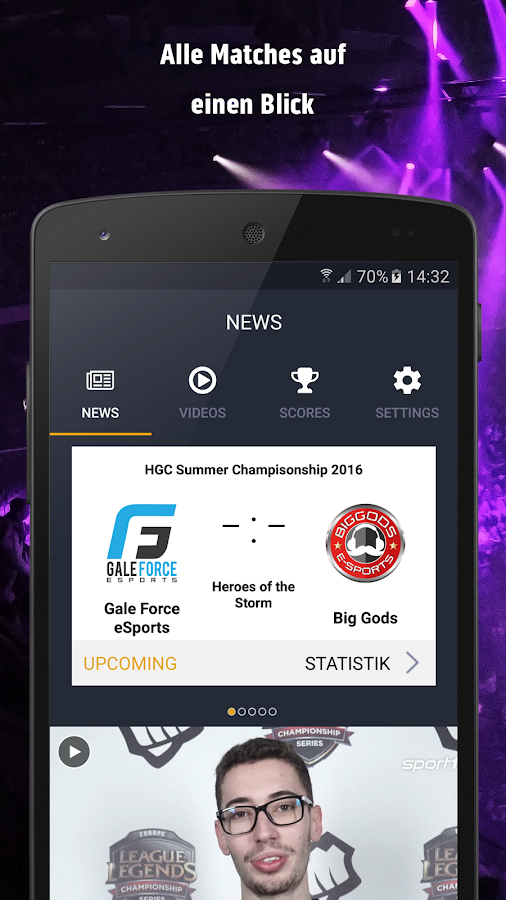 sport1 esport