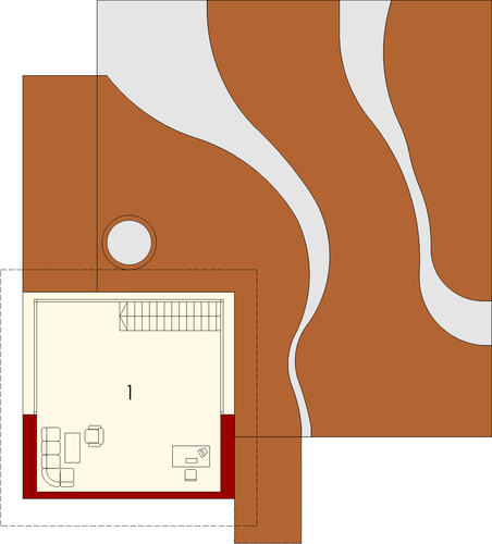 River G2 - Rzut piętra