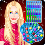 Mermaid Princess Makeup and Dress up Icon