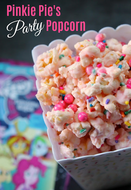 Pinkie Pie's Party Popcorn is perfect for a My Little Pony Equestria Girls Magical Movie Night!