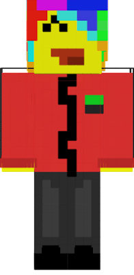 Hey Im the actual original creator. Idiots have copied my yellow version of this skin and got the credit and i still got no credit or hearts on my skin the only ppl that got the credit were stupid Copyers. So im letting u know. But ye enjoy! My namme on minecraft is forsteken. STOP COPYING NOW.