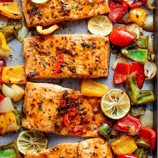 Sheet Pan Chili Lime Salmon Recipe