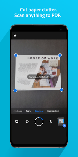 Adobe Scan: PDF & Business Card Scanner with OCR 19.05.07 screenshots 1