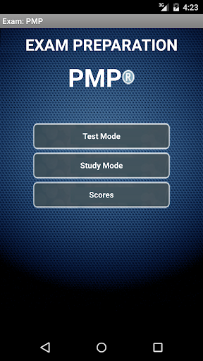 Exam: PMP