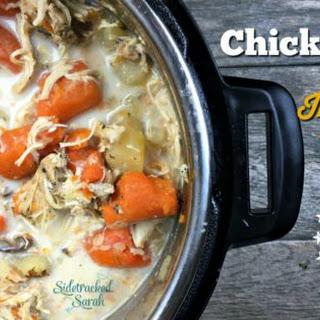 Chicken Stew in the Instant Pot.