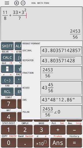 Algebra scientific calculator 991 ms plus 100 ms 4.0.8-23-06-2019-12-release screenshots 1