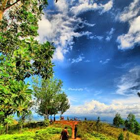 Papua land by Hanz Photophoto - Landscapes Mountains & Hills