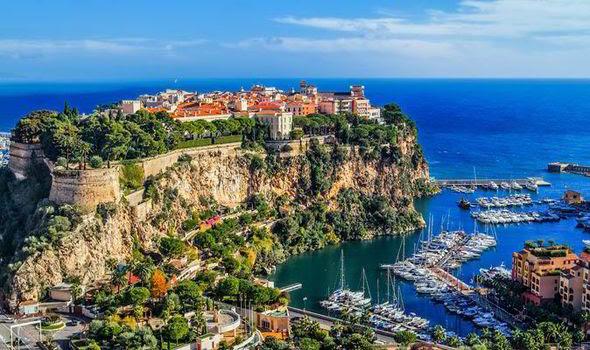 Монако-Вилль - столица княжества Монако - Княжество Монако - достопримечательности, путеводитель, что посмотреть в Монако, как добраться в Монако, расписание транспорта в Монако